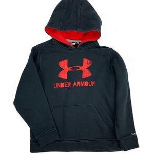 Under Armour youth medium hoodie sweater black